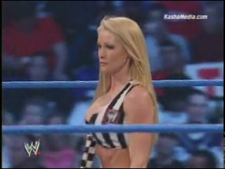 Torrie Wilson Vs. Nidia (Special Referee Sable)...